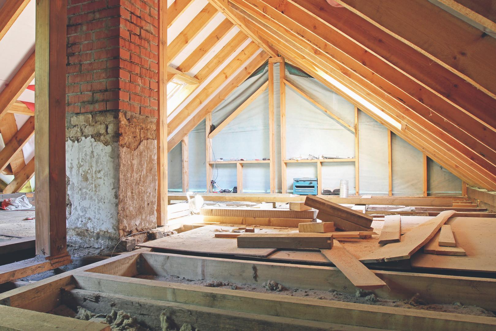 matériaux pour des travaux de rénovation