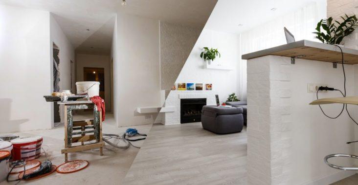 rénovation à prévoir dans une habitation