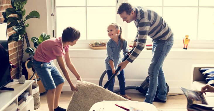 nettoyer de fond en comble sa maison