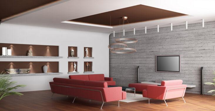 avantages d'un faux plafond